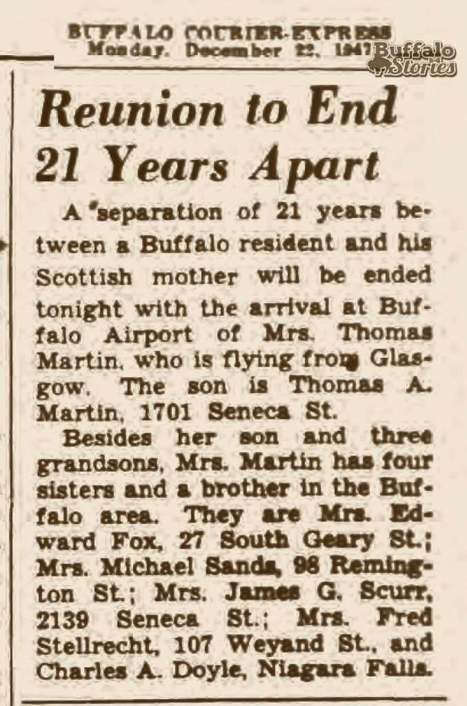 ... of close relations living on or just off Seneca Street in South Buffalo  in the late 1940s when the move began to deport him. (Buffalo Stories  archives) 9a6b3ecd0779