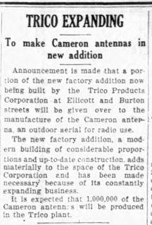 09 sep 1928 CE Trico expands Burton Alley