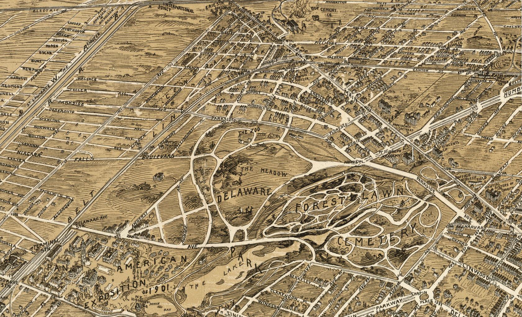 Parkside Map 1902