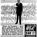 From the Courier-Express, 1961. John Otto hosts Themes and Variations on WGR-FM