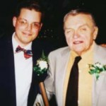 John Otto, with your author, on the night he was inducted into the Buffalo Broadcasting Hall of Fame.