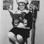 an Early 60's shot of Brother John Otto... Host of a Sunday morning show for children.