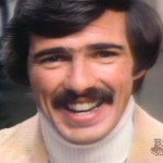 John Beard, at the mention of his mustache