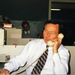 Van on the phone with Don Postles hard at work