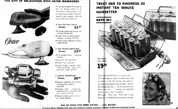 AM&As massagers and curlers
