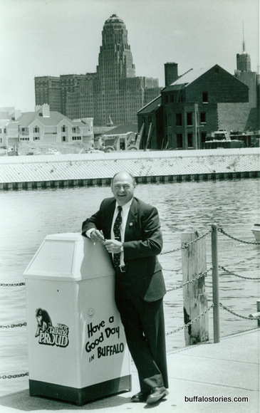 Jim Griffin's leadership spawned waterfront construction…
