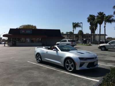 The Camaro, The Wife, The Jack-In-The-Box