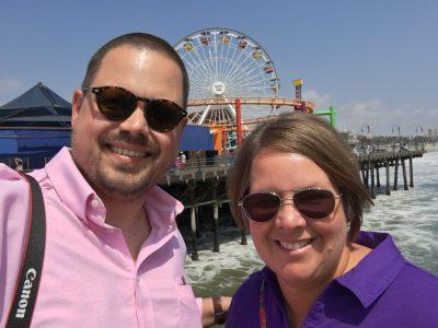Ferris Wheel selfie!