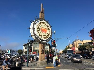 That's why they called the tourist trap next door Fisherman's Wharf.