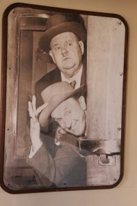 Laurel & Hardy sailed the Queen Mary... lots of great photos of all the great stars of yesterday on the ship.