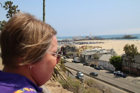 Monica and Santa Monica Pier.