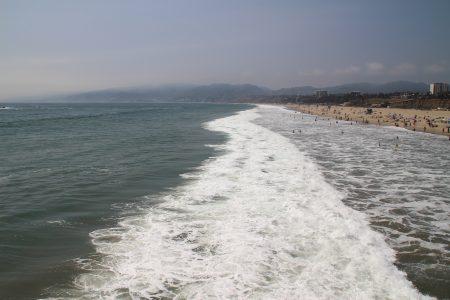 Santa Monica Beach...