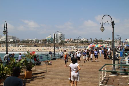 The pier from the end...