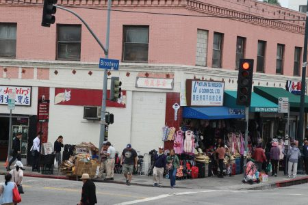 Chinatown is the only place we saw in LA that seemed real.