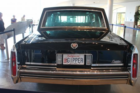 Presidential limo used to take Reagan from the airport to his Santa Barbara ranch.