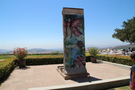 A piece of the Berlin Wall.