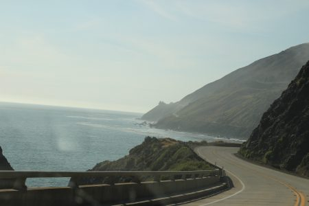 More curvy roads and beautiful views.