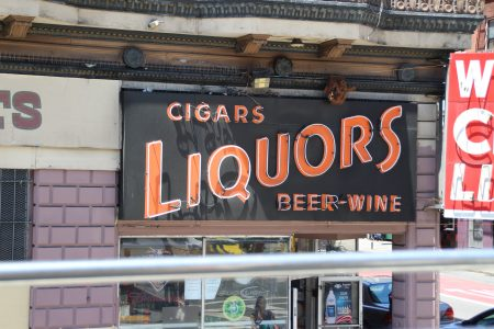 Another great neon sign. What else does a guy need?