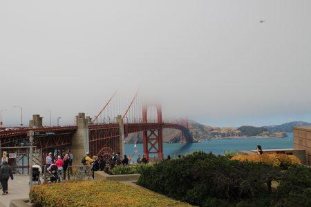 Fog at Golden Gate!