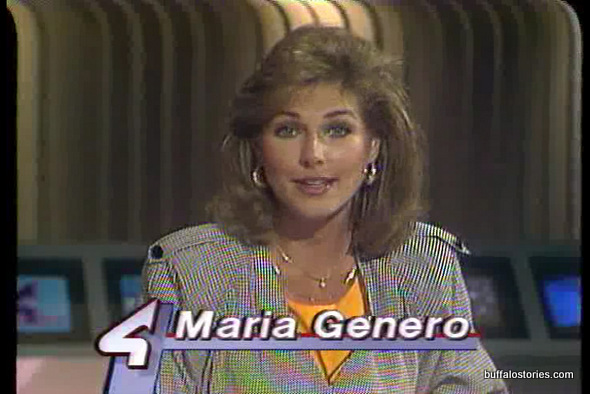 Maria Genero is one of a vaunted few– She's worked at 2,4, & 7. She did weather on Channel 4 in the mid 80s.