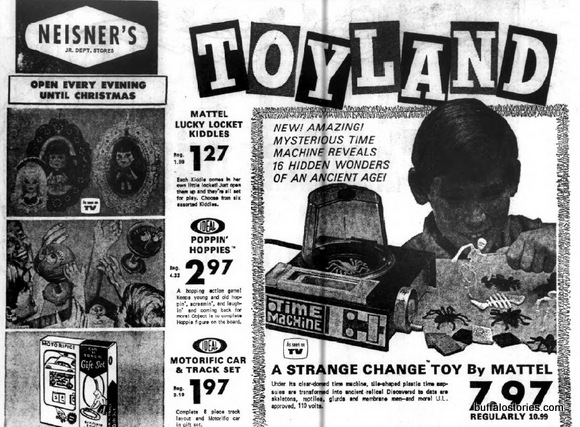 Neisners strange change toy
