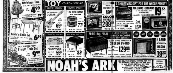 Noahs Ark train