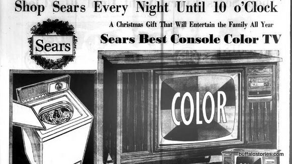 Sears color tv