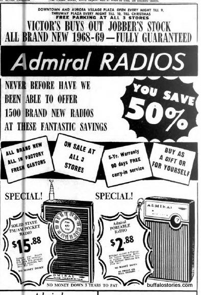 admiral radios