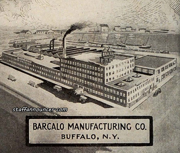 The Barcalo Manufacturing plant in 1918.