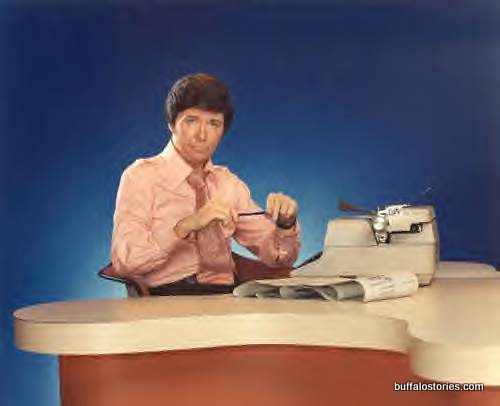 The legendary Ron Hunter, WGR-TV news anchor for several years in the mid 70s. One of the writers of the original Anchorman movie once cited Hunter, who moved on from Buffalo to Chicago, as an inspiration.
