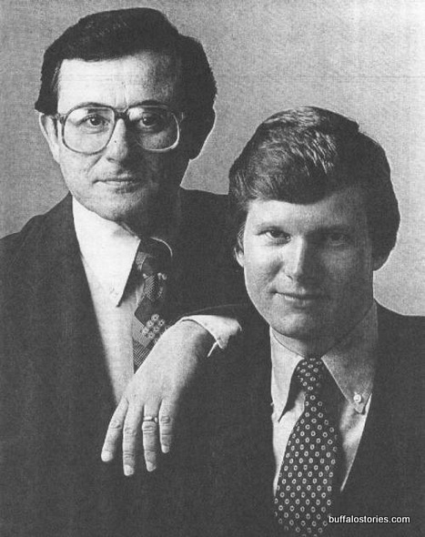Irv Weinstein and Don Postles. Engagement photo?