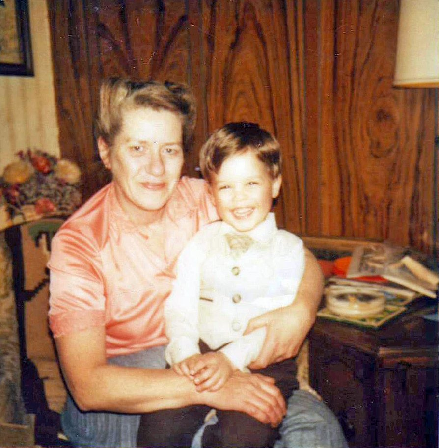 steve and grandma cichon