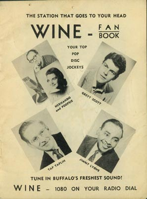 Here are the stars of WINE Radio… Hernando and Poopsie… Tap Taplin, Greyt Scott, and Jimmy Lyons.