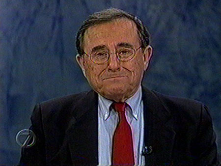 Irv gets a bit emotional during his last newscast, Dec. 31, 1998