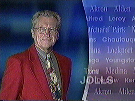 Tom Jolls, from a newscast open, 1998
