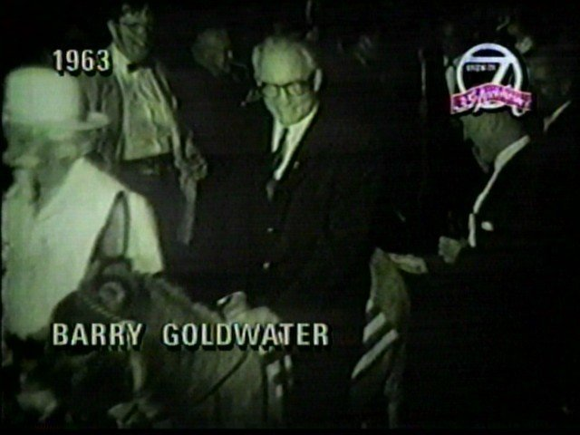 Barry Goldwater visits WNY, 1964