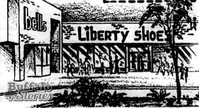 Bells Markets and Liberty Shoes were among the stores at the Clarence Mall in 1981.