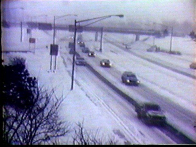 The blizzard of 77 hits the Kensington Expressway