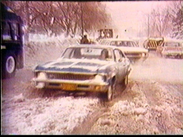 Blizzard of 77 driving