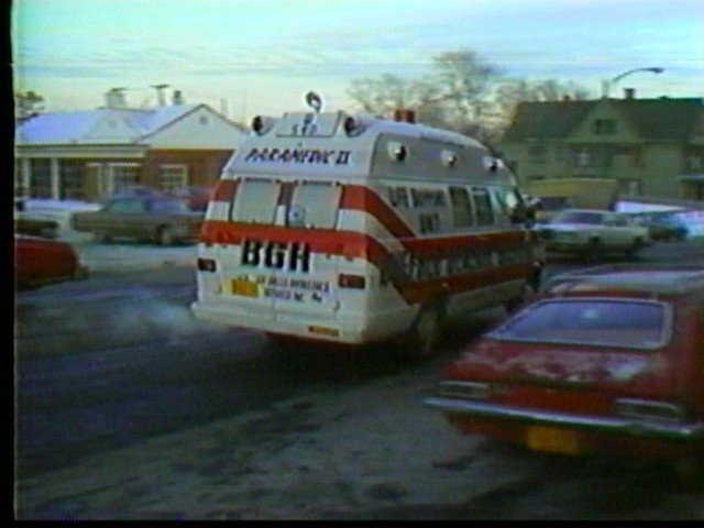 Buffalo General Hospital ambulance