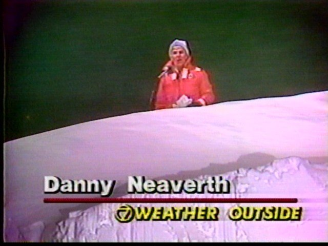 Danny Neaverth, weather outside