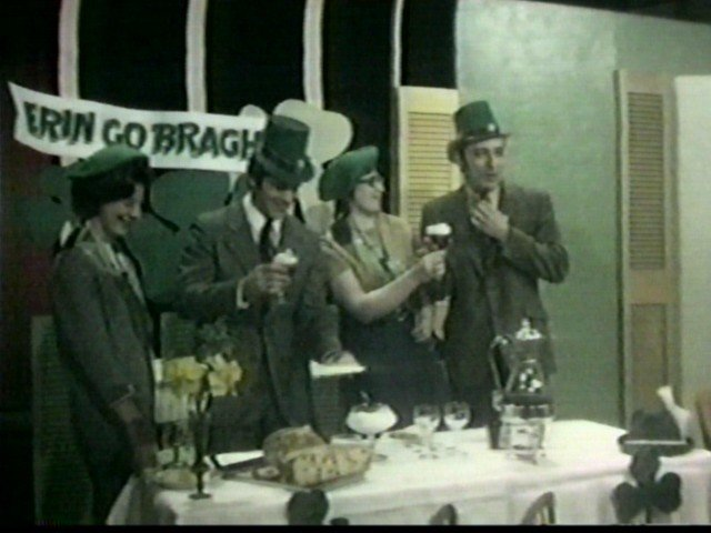 St Patrick's Day party on Dialing for Dollars