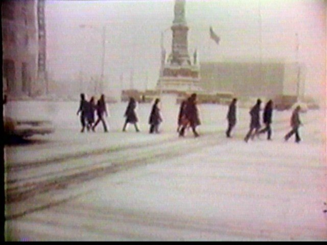 Blizzard of 77 in Niagara Square
