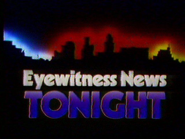 Eyewitness News Tonight graphic with Buffalo skyline