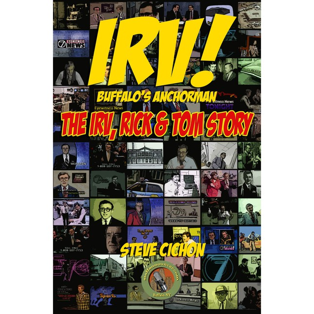 Click this cover to buy a copy of Steve's book on Irv, Rick, and Tom!