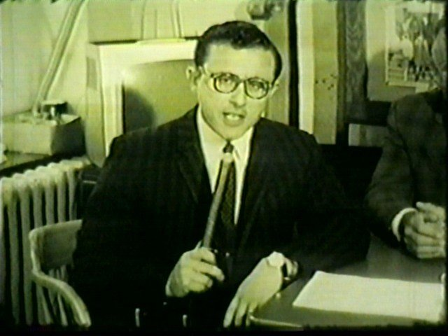 Irv Wesinstein, before his anchor days