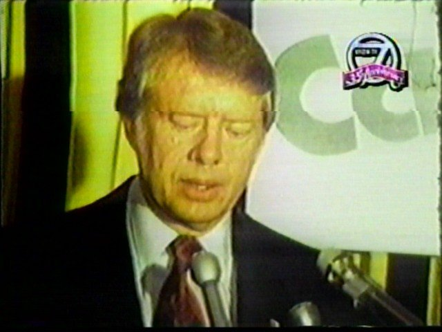 President Jimmy Carter in Buffalo