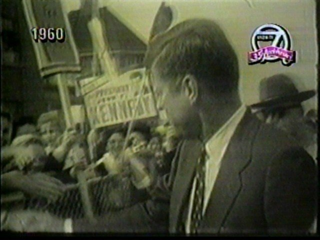 John F. Kennedy visits Buffalo