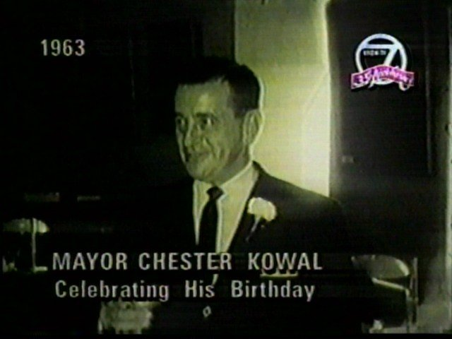 Buffalo Mayor Chester Kowal