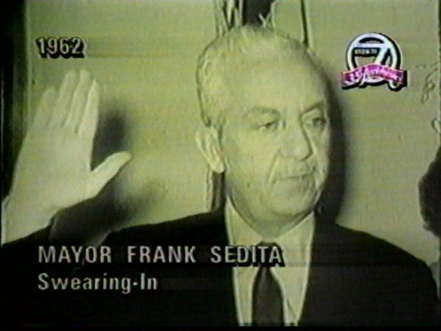 Frank Sedita sworn in as Buffalo Mayor
